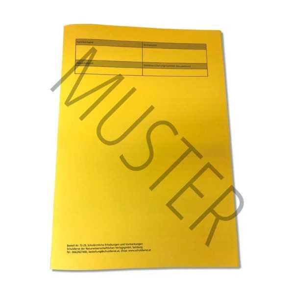 72-25 Schulärztliche Erhebungen und Vormerkungen